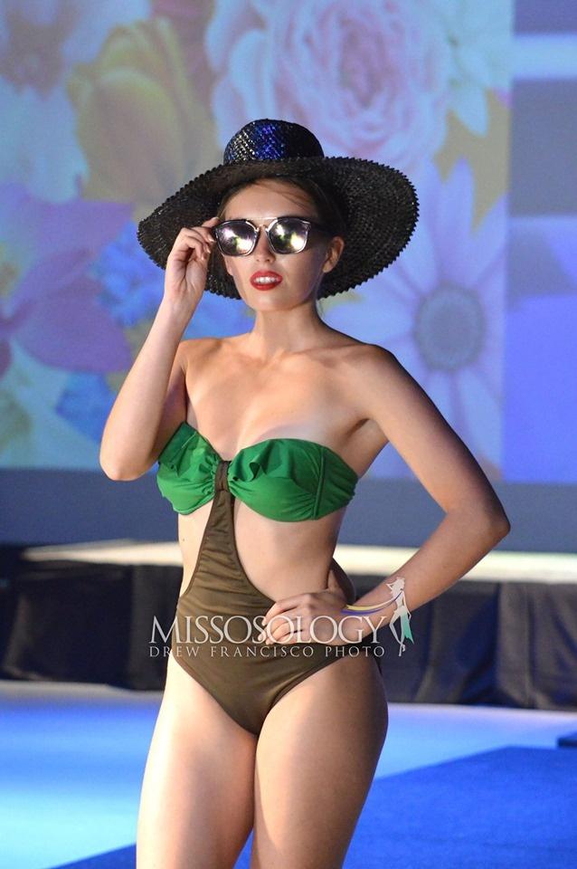 Thi sinh Hoa hau Trai dat lo nhieu nhuoc diem hinh the khi mac bikini hinh anh 6