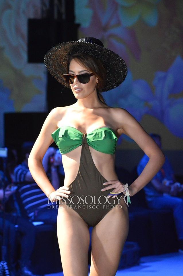 Thi sinh Hoa hau Trai dat lo nhieu nhuoc diem hinh the khi mac bikini hinh anh 8