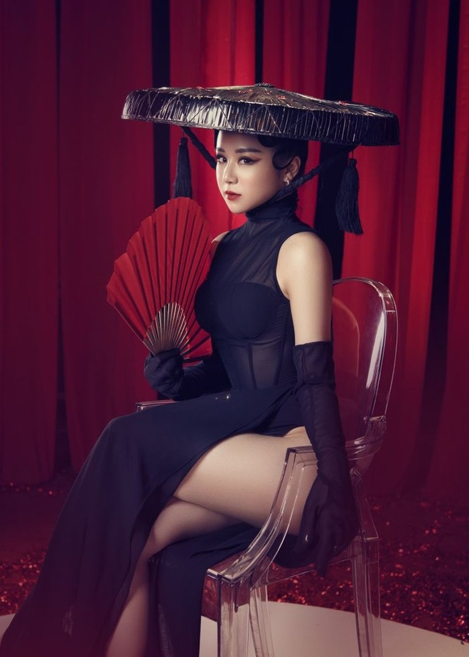 Nha Tien - tu hot girl ngu gat den co gai chieu tro, nghien khoe than hinh anh 15
