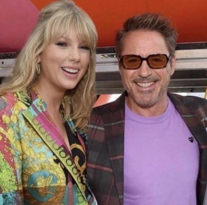 Robert Downey Jr. gay phan no khi vi Taylor Swift voi nhen doc hinh anh 1