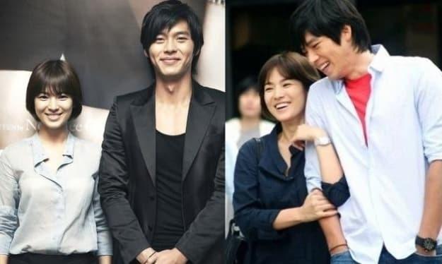 Lo tin nhan nghi Song Hye Kyo hen ho cung luc voi Hyun Bin va Bi Rain hinh anh 2