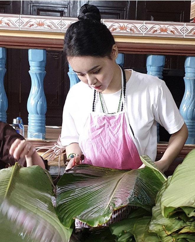 Angela Phuong Trinh goi banh chung, Duc Phuc sam hang hieu ngay Tet hinh anh 4 IMG_8276.jpg
