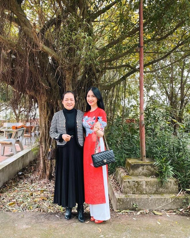 Tang Thanh Ha, Bao Anh khoe anh chup cung me dip Tet hinh anh 6