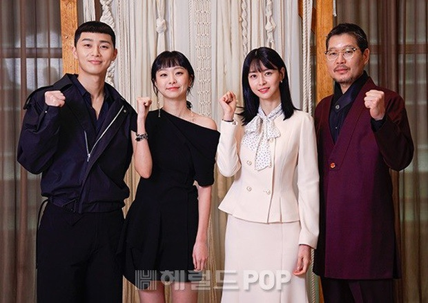 The cast of 'Itaewon Class' livestream press conference for nCovid-19