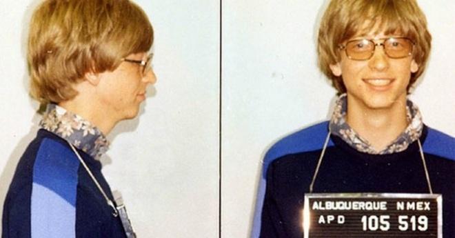 15 dieu thu vi co the ban chua biet ve Bill Gates hinh anh 3 Bill Gates đã từng bị bắt đến 3 lần.