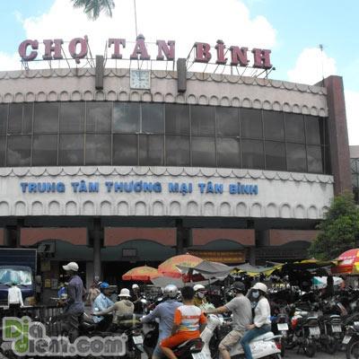Tam ngung du an xay trung tam thuong mai va cho Tan Binh hinh anh