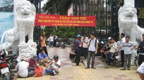 Dai gia mien Tay pha san: Nguoi do benh, ke tron chay hinh anh