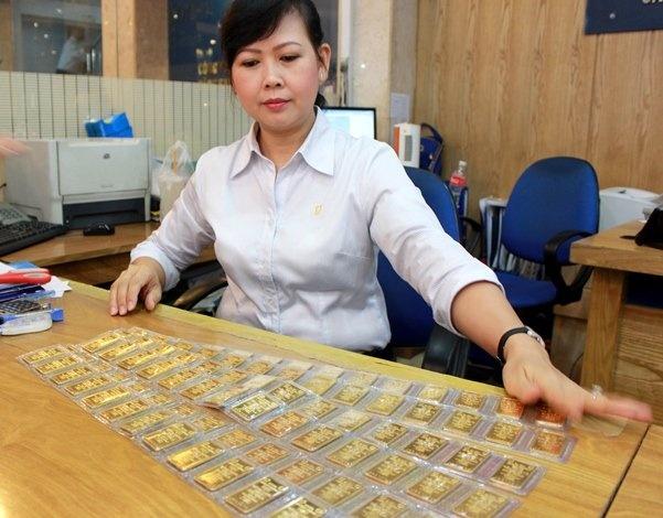 Chuyen gia vang: Viet Nam kho tieu thu het 69,1 tan vang hinh anh