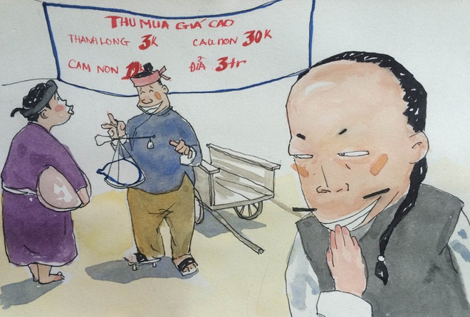 Manh khoe thuong lai Trung Quoc thu mua nong san Viet hinh anh