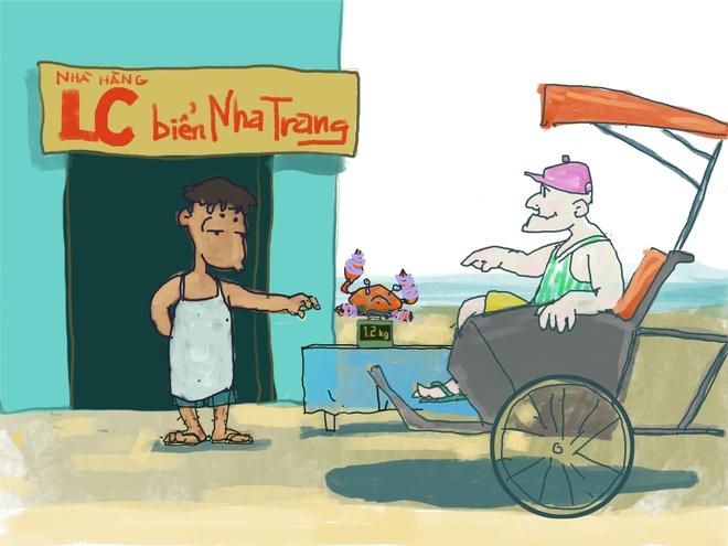 Hi hoa: Chat chem khach bang cua buoc day, bua an 22 trieu hinh anh