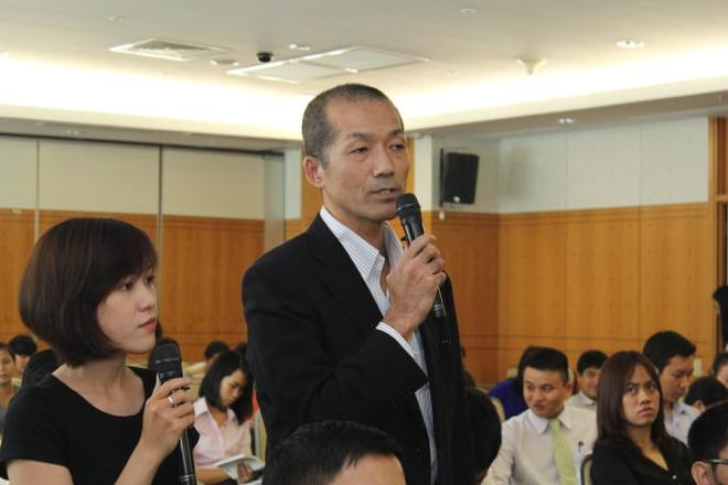 Nhap canh mot ngay la mua duoc nha hinh anh 1 Ông Yoshida Akio (người Nhật Bản) cho rằng nên sớm có các quy định cụ thể để người nước ngoài có thể mua nhà định cư tại Việt Nam.