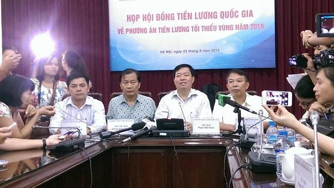 Luong toi thieu nam 2016 cao nhat 3,5 trieu dong/thang hinh anh 1