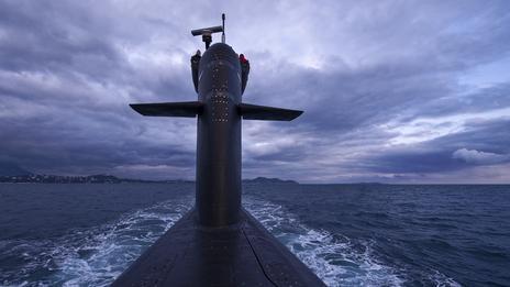 Tàu ngầm hạt nhân từ lâu luôn là một chủ đề được yêu thích trong các bộ phim khoa học viễn tưởng. Ảnh: SPL