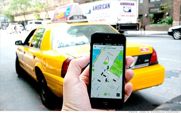 Su that luong tai xe taxi Uber hinh anh