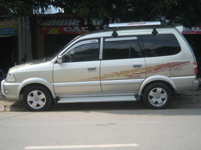 'Do co' Toyota Zace, vi sao van duoc san lung? hinh anh 2 Xe có kích thước 4.495 x 1.670 x 1.850 mm.