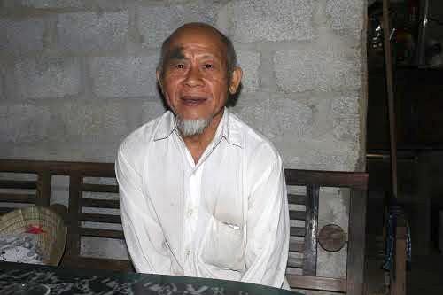 Ông Hoàng Trọng Đức (78 tuổi) là thương binh bị lừa gói dịch vụ chữa bệnh, nộp gần 12 triệu.
