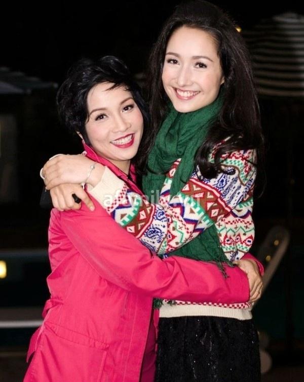 Mỹ Linh và con gái lớn Anna Trương.