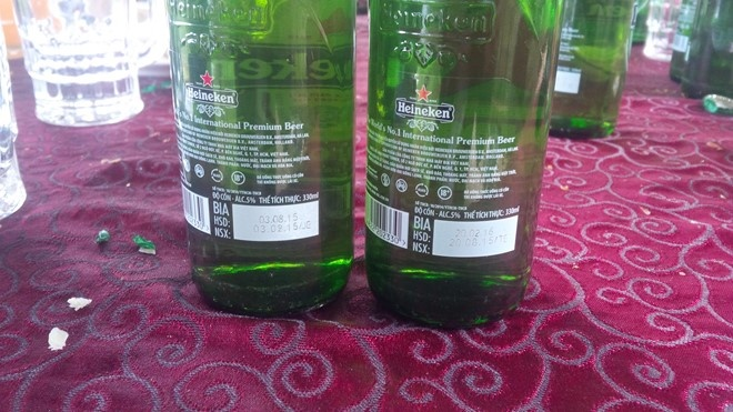 Gia Lai: Nha hang ban bia het han cho khach hinh anh 3