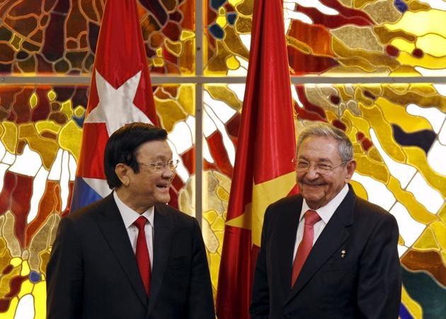 Viet Nam - Cuba day nhanh ky hiep dinh thuong mai moi hinh anh