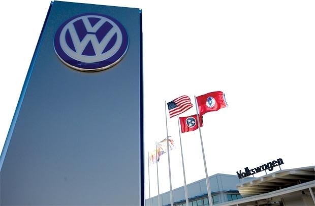 Volkswagen: Van den con deo dang hinh anh 1