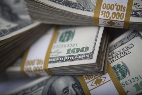 USD cho den mat gia 500 dong, do xo di ban hinh anh 1