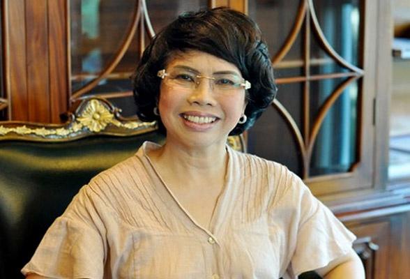 Bà Thái Hương- Chủ tịch HĐQT TH True Milk.