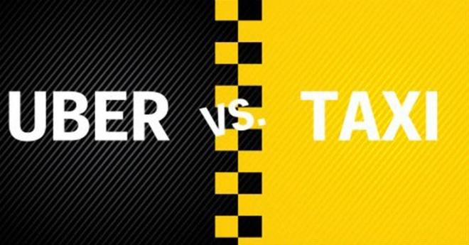 Uber, Grab - taxi truyen thong: Cuoc chien chua co hoi ket hinh anh 1