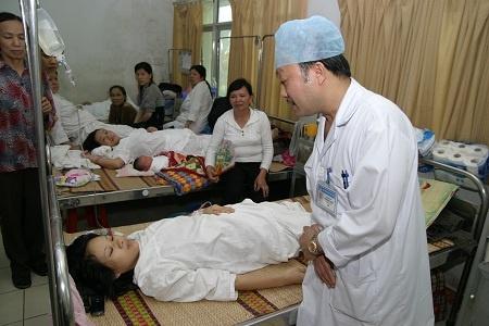 Nhiều ca cấp cứu sản phụ đòi hỏi bác sĩ phải đưa ra quyết định nhanh chóng (ảnh có tính chất minh họa).