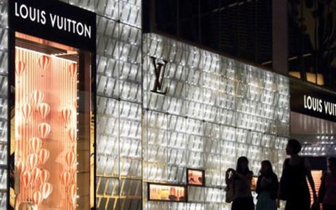 Cửa hàng Louis Vuition tại thành phố Thượng Hải.