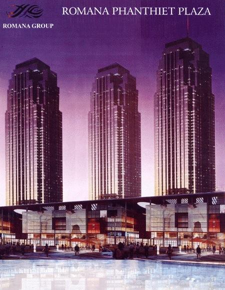 Dung voi mung voi du an ty do hinh anh 1 Mô hình siêu dự án Romana Phan Thiết Plaza.