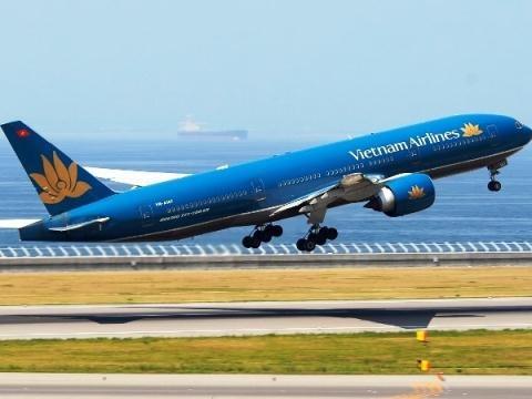Vietnam Airlines ban 2 may bay Boeing B777 hinh anh