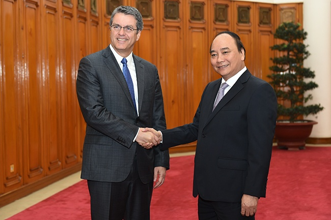 Thu tuong Nguyen Xuan Phuc: 'Viet Nam ung ho, tin tuong WTO' hinh anh