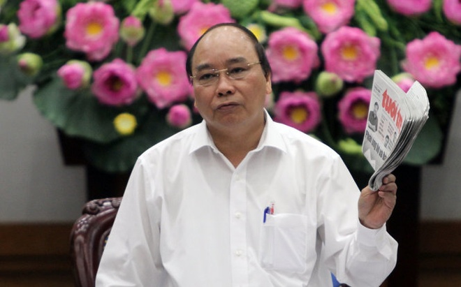 Thu tuong Nguyen Xuan Phuc: Phai bao ve va ung ho kinh doanh hinh anh