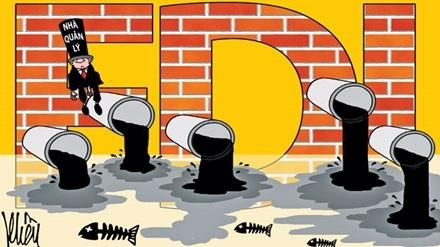 60% doanh nghiep FDI xa thai vuot quy chuan hinh anh