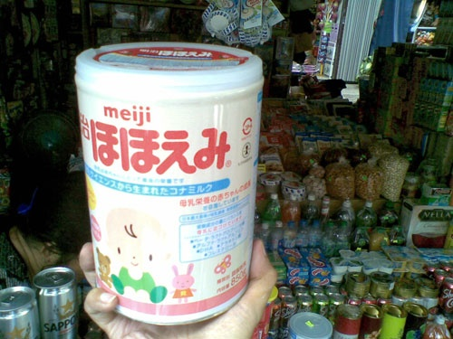 Canh bao sua Meiji nhap khau o Viet Nam khong dat chuan hinh anh 1