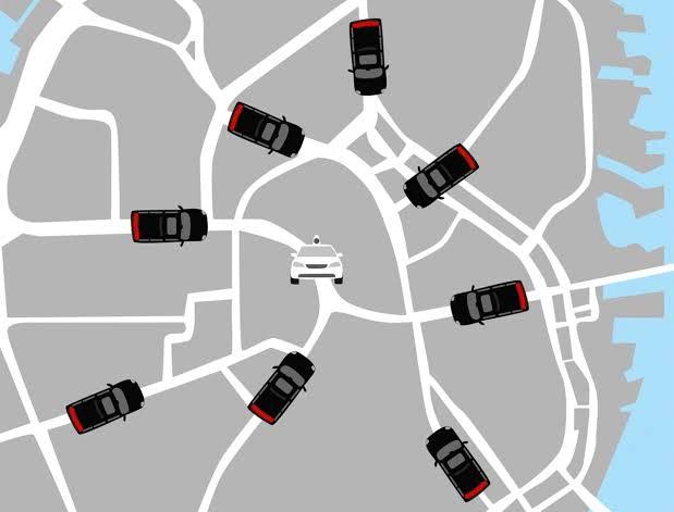 Bo nganh van cai nhau: Uber ung dung huong loi hinh anh 1