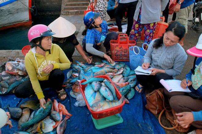 Cho hai san gia re tren dao Phu Quy hinh anh 5