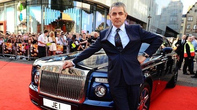 Qua trinh su nghiep cua vua hai Anh 'Mr. Bean' anh 11