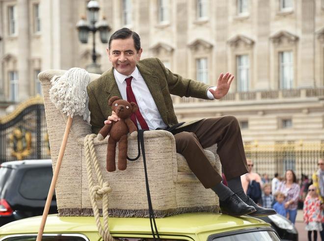 Qua trinh su nghiep cua vua hai Anh 'Mr. Bean' anh 7