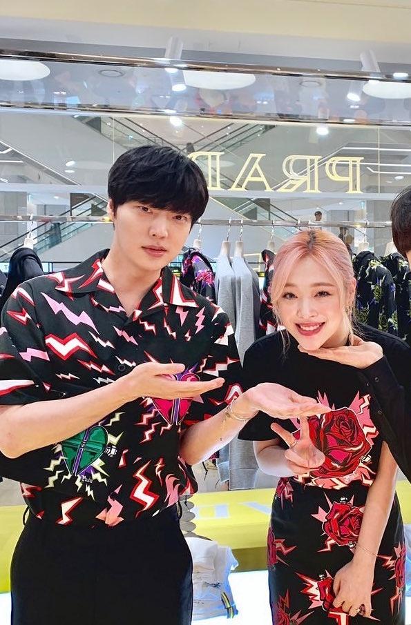 Ahn Jae Hyun va Sulli anh 3