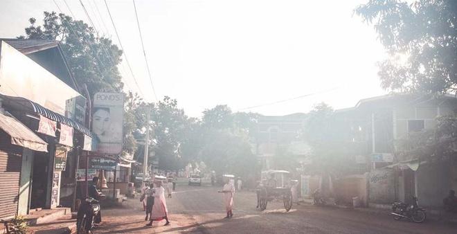 Co do Bagan huyen bi o Myanmar hinh anh 1