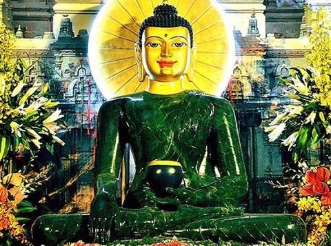 Tuong Phat Ngoc hoa binh the gioi den Binh Duong hinh anh