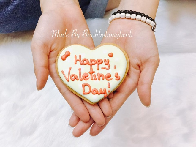 Mon banh handmade cho Valentine anh 8