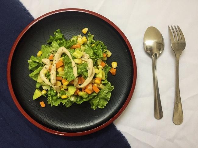 Salad rau cu thanh mat cho ngay he hinh anh 3