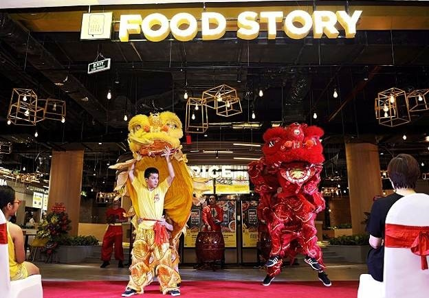 Kham pha dac khu an uong Food Story chi voi 35.000 dong hinh anh