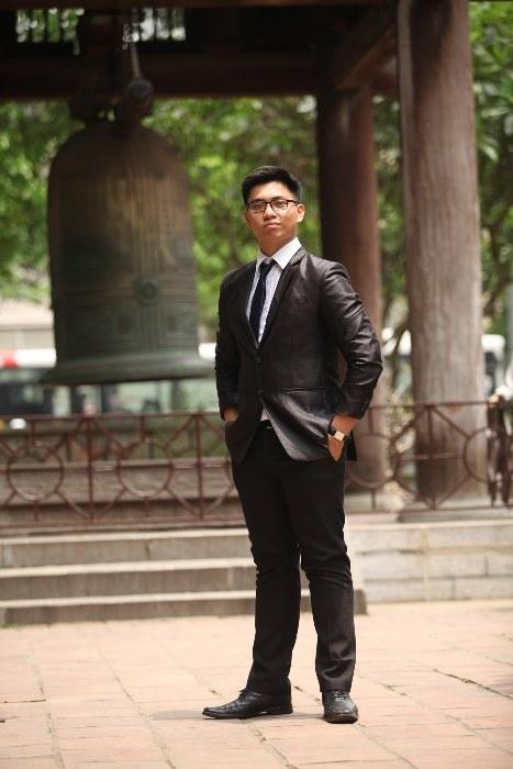Nam du học sinh Nguyễn Đức Anh.