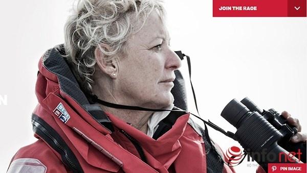 Nữ thuyền trưởng Wendy Tuck sẽ chỉ huy chiếc thuyền buồm mang tên Đà Nẵng
