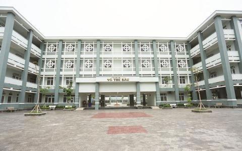 Ngôi trường bị các phụ huynh phản ánh lạm thu (Ảnh: phunuonline.com.vn)