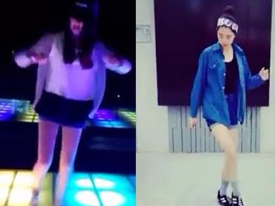 Trao luu Shuffle Dance khoe chan dai thu hut gioi tre hinh anh