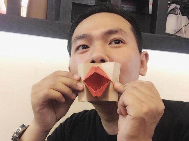 Thay giao co tai gap giay origami noi tieng tren mang hinh anh